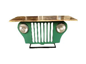 Mango Wood Jeep Console Table (SBA 035)