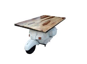 Mango Wood Scooter Tables (SBA 048)