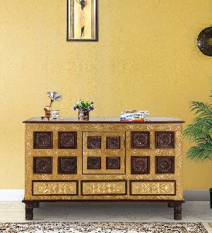 Mango Wood Sideboard Table (SBA053)