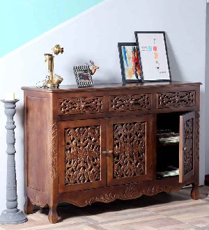 Mango Wood Sideboard Table (SBA086)
