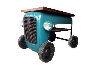 Mango Wood Tractor Table (SBA 007)
