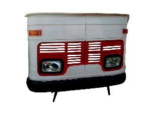 Mango Wood Truck Bar Counter (SBA 002)