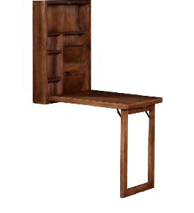 Mango Wood Wall Mounted Study Table