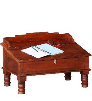 Mango Wood Munim Writing Desk