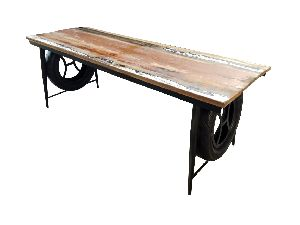 Reclaimed Wood Console Table (SBA 024)