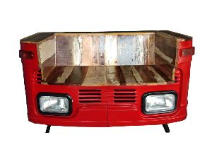 Reclaimed Wood Truck Sofa