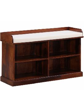 Sheesham Wood Shoe Rack