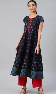 Ladies Printed Rayon Kurti