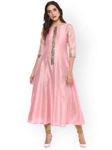 Ladies Stylish Silk Kurti