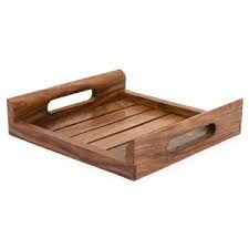 Wooden Flat Tray