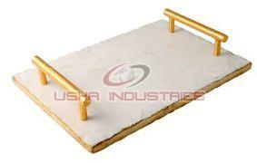 Rectangle Marble Serving Tray