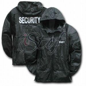 Security Guard Padded Jacket