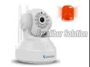 Wireless HD ASK linkage Alarm IP Camera