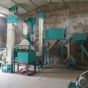 Mild Steel Seed Cleaning and Grading Plant