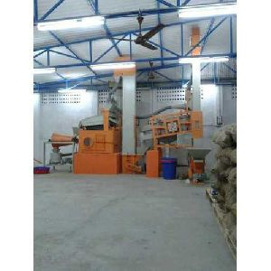 Stainless Steel Seed Cleaning and Grading Plant