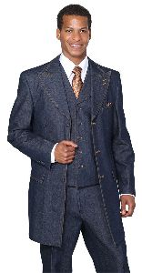 Denim Suit Fabric