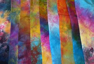 Multicolor Dyed Fabric