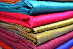 Plain Raw Silk Fabric