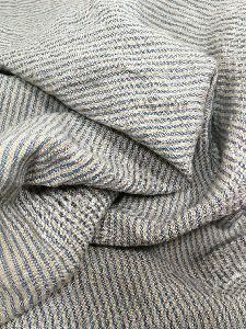 Striped Linen Fabric