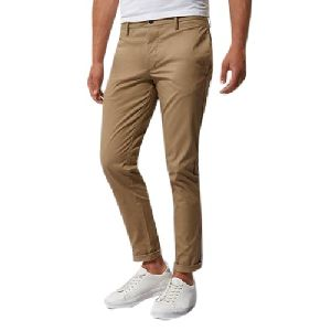 Mens Regular Fit Cotton Trouser