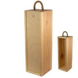 One Bottle Wooden Box