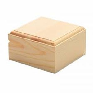 Square Wooden Gift Box