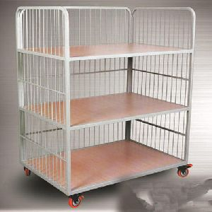 Spangle Steel Movable Rack