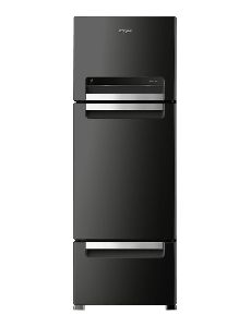 Stainless Steel Three Door Refrigerator