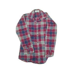 Girls Checkered Shirts