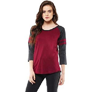 Womens Plain T Shirts