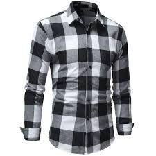 Mens Checkered Shirts