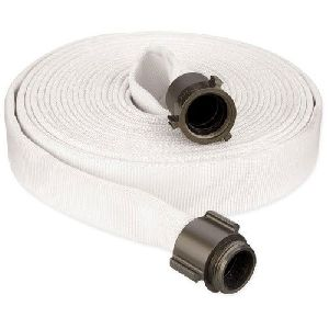 Canvas White Fire Hose Pipe
