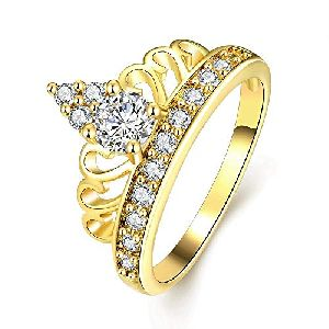 Gold Plated Designer Ring
