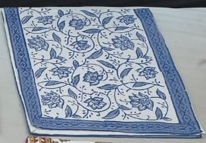 Printed Linen Table Runners