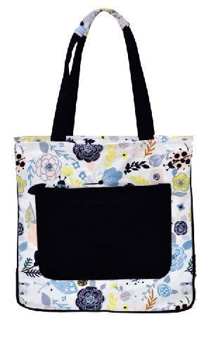 GAJB-103M Flower Print Medium Sized Bag