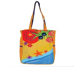 GAJB-132S Beach Print Small Sized Bag