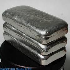 Scandium Metal Ingots