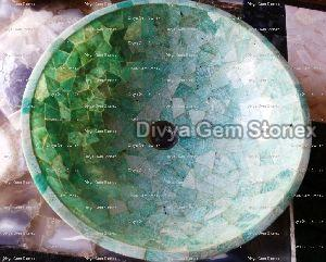 Amazonite Wash Basin