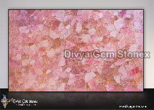 Pink Quartz Slab