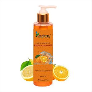 Orange & Lemon Mint Shower Gel