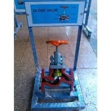 Cut View Of Globe Valve
