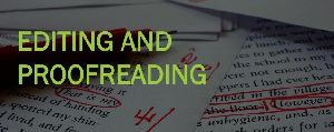 Document Editing & Proofreading Services