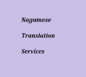 Nagamese Translation Services