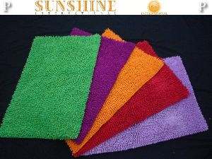 Cotton Shaggy Bath Mats
