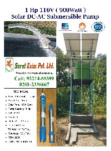 1Hp Solar Water Pump