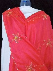 Gold Scalloped Dupatta
