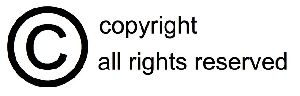 Copyright Certification