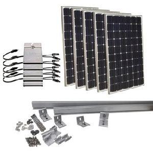 Solar System On Grid Kits