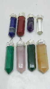 Mixed Stone Pendant