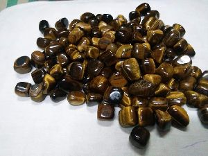 Tiger Eye Tumbled Stone